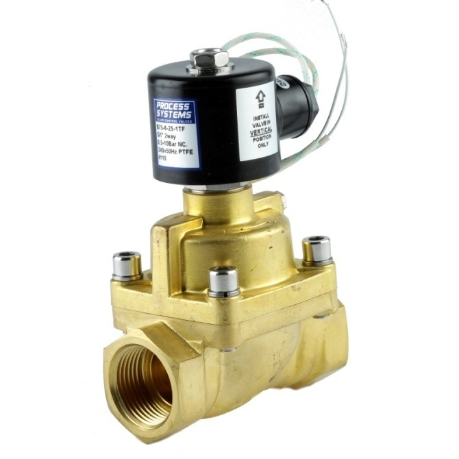 Steam High Temperature Brass Solenoid Valve Normally Closed