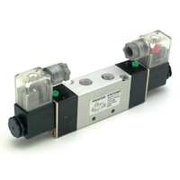 5 Way 2 position double solenoid valve