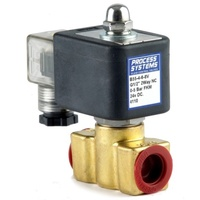 Brass Petrochemical Normally Closed Direct Acting Solenoid Valve