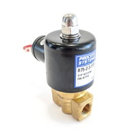Brass Steam & Hi Temperature Normally Closed Direct Acting Solenoid Valve