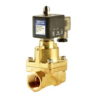 Brass High Pressure 80 BAR Normally Closed Solenoid Valve