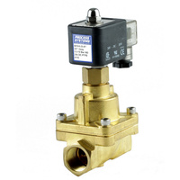 Brass Steam & Hi Temperature Normally Open Solenoid Valve