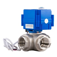 3 Way Auto Return Electric Ball Valve
