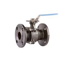 Cast Steel ANSI 150 Flanged Fire Safe Ball Valve