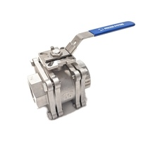 Stainless Steel NPT Threaded Fire Safe Ball Valve