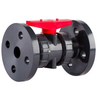 Flanged UV Stabalised PVC Manual Ball Valve