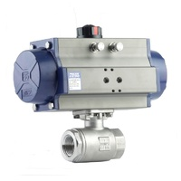 High Pressure Double Acting Ball Valve