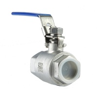 Two Piece Stainless Steel Ball Valve
