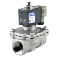Stainless Steel General Purpose Zero Differential Normally Closed Solenoid Valve