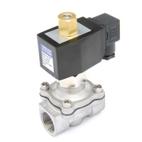 Stainless Steel Normally Open General Purpose Zero Differential Solenoid Valve