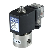 Stainless Steel 3 Way Direct Acting Normally Open Solenoid Valve