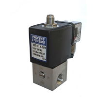 Stainless Steel 3 Way Direct Acting Normally Closed Solenoid Valve