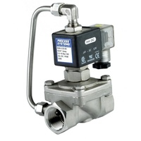 Stainless Steel Petrochemical Normally Open Differential Solenoid Valve