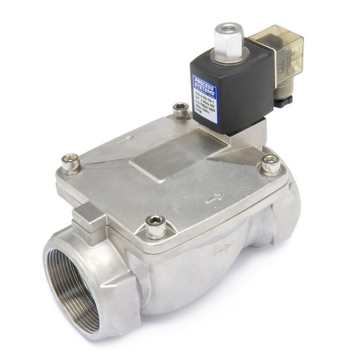 Stainless Steel General Purpose Normally Open Solenoid Valve